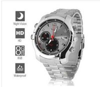 Wholesale 8GB P Full HD Spy Camera Watch with Night Vision