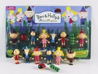 Wholesale New Set Kids Toy Little Kingdom Christmas toy Golden Ben and Holly Anime Action Figures Cartoon