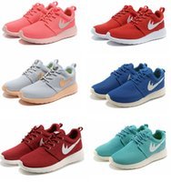 american sport shoes - new Brand shoes Roshe running shoes London Mesh RUN sports sneakers breathable European and American Style Women and shoes