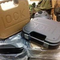 Wholesale Lock secret handle case Black Tan color hard waterproof PC Quality Outdoor precise instrument protect bag