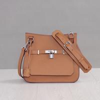 Wholesale High quality genuine leather women messenger bag brand designed shoulder bag cowhide leather bag handbag lock bag
