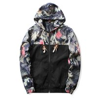 Wholesale 2016 short jackets autumn and spring fashion sweatshirts polyster hoodies jackets for men designer men clothes flowers hoodies jackets KXJ50