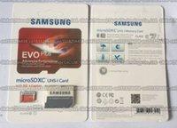 Wholesale 16GB GB GB GB GB Samsung EVO Plus micro sd card Class10 smartphone TF card C10 Tablet PC Storage card MB S