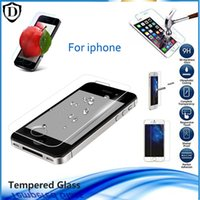Wholesale New arriving For iPhone S SPLUS C SETempered Glass Screen Protector Protective Film Free DHL