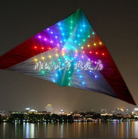 bamboo ideas - Best Birthday Gift kite sqm LED kite with of lights attractive in the night kitesurfing idea fly fish h