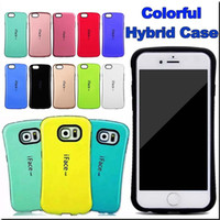 apple silicone rubber - Iface Hybrid cases For Iphone SE S Plus Samsung Note S6 S7 edge j3 j5 j7 LG G5 Colorful Wallet Cover TPU rubber silicone
