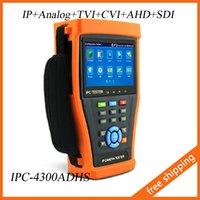 cctv ptz - 4 quot Touch Screen IP Camera Tester Monitor PoE Test CCTV Tester WIFI PTZ Controller HDMI ONVIF With CVI TVI AHD SDI IPC4300ADHS