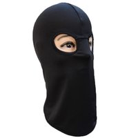 Wholesale Outdoor sport bike motorcycle riding mask dust and sun CS tactical face double hole hoods