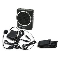 amp dance - Aker MR1700 Portable Waistband Microphone Amplifier AMP MP3 Speaker with Headset US EUPlug LoudSpeaker Outdoor Dancing Use