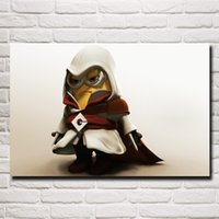 assassins creed stickers - Despicable Me Animated Movie Assassins Creed Art Silk Fabric Poster Prints Home Wall Kids Room Decoration Painting x36 Inch