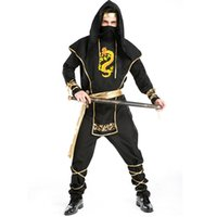 adult men pirate costume - Cool Adult Black Costume Sexy Party New Halloween Pirate Costume Crinaval Cosplay Warrior Cosplay Costume for Man