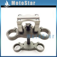 aluminum fork clamp - Alloy Triple Clamp Bar Riser Taper Mount For mm mm Front Fork mm Handlebar Pit Motor Dirt Bike Motorcycle