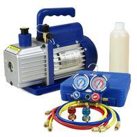 air conditioning manifold gauge set - Manifold Gauge Air Condition Kit R134a HVAC with HP CFM Vacuum Pump Set