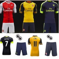 Wholesale AAA Arsenal jerseys kit Away home RD goalkeeper Jersey WILSHERE OZIL WALCOTT RAMSEY ALEXIS