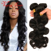 best brazilian hair company - Best Quality Remy Human Hair Extensions Brazilian Peruvian Malaysian Indian Hair Weave Body Wave Extension Vusion Hair Company