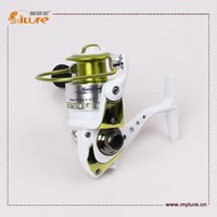 Wholesale Ilure High Quality Reels Gear Ratio Plastic Spinning Fishing Reel drop shipping