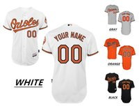 Wholesale 2016 Custom Baltimore Orioles Cool Base Majestic Throwback Baseball Jerseys JONES MACHADO Home Away Men s High Quality MLB Stitched Wear