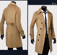 Wholesale Trench Coat New Arrival Business European Style Slim Fit High Quality Wind Coat Autumn Popular Men Trench