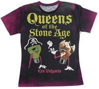 age coupling - Queens Of The Stone Age Era Vulgaris Custom D Tee shirts Unisex Women Men T shirt Couples T shirt Short Sleeve Pullovers Tops Casual shirt