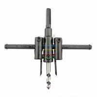 adjustable hole saws - Adjustable Wood Drywall Circle Hole Cutter Bit Saw Use mm to mm Circle Hole Saw Cutter Drill Bits For Electric Drilling order lt no tra