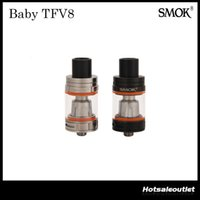 babies tanks - Authentic SMOK TFV8 BABY Beast Tank with ML e Juice Capacity Cute Baby TFV8 Atomizer Surprise Her Original