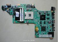 BTX intel laptop motherboards - 615278 for HP pavilion DV6 DV6T DV6 motherboard with intel DDR3 hm55 chipset G QUA