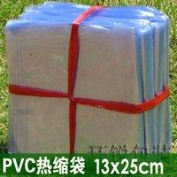 Wholesale 13x25cm pvc packing bag Pvc heat shrink shrink bag plastic bag