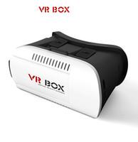 Wholesale Free DHL Head Mount Plastic VR BOX Version VR Virtual Reality Glasses Rift Google Cardboard D Movie for quot quot Smart Phone