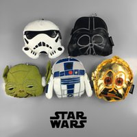 bags empire - Popular movie The Star Wars small change purse coin bag Darth Vader empire stormtrooper related phone bag for funs