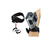 Wholesale High Quality Degree Rotation Wrist Strap Band Mount Camera Waterproof Diving Case Accessories For GoPro Hero