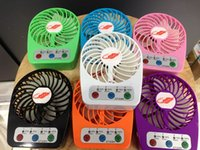 Wholesale Mini Fan GT328H Portable Rechargeable Lithum Battery Handheld For Indoor Outdoor Speeds Mini Colorful Fan