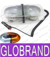 Techo del coche luces LED 240 240 LED del carro del coche de la azotea que destella del estroboscópico luces de advertencia de emergencia GLO379 6 colores libera el envío