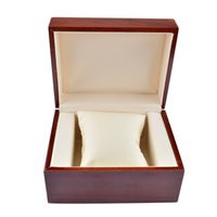 antique rosewood box - Retro Solid Wood Rosewood Watch Display Box Antique Watches Case Grids Durable Recollection Box for Watches Leather Pillow