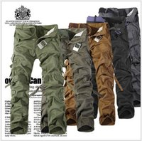 active works - 2016 NEW CHRISTMAS NEW MENS CASUAL MILITARY ARMY CARGO CAMO COMBAT WORK PANTS TROUSERS COLORS