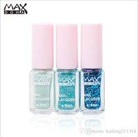 Wholesale maxdona cocktail tricolor magic gradient nail polish set