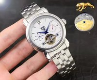 automatic covers - 2016 NEW Hot seller Luxury Men Mechanical Automatic Coated glass bottom cover watch size mm