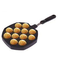 baked meatballs - Kitchen Bakeware Holes Octopus Barbecue Plate Round Meatballs Takoyaki Maker Dish Baking Sheet BBQ Pans Cake Tool