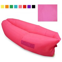 bedding stuff - 9 Colors Fast Infaltable Sleep Bag Seconds Quick Open Lazy Sleeping Bed Hangout Air Sleep Camping Bed Kaisr Beach Sofa Loung