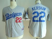 apparel la - 2016 New Baseball Jerseys LA Dodgers Kershaw Cheap Baseball Uniform Hot Sale Baseball Apparel Cool Base Baseball Sportswear