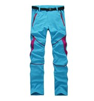 Wholesale New Summer Outdoor Brand Hiking Pants Women Quick Dry Anti Uv Breathable For Fishing Hiking Camping