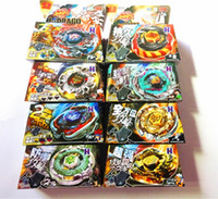 Wholesale 8Sets Kid Child Boy Toy Spinning Tops Clash Metal D Beyblades Beyblade Style BB105 Limited Edition