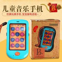 Wholesale The United States b toy mobile phone touch screen phone and children s music Early Childhood Music Toy Puzzle authentic