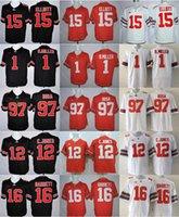 Wholesale 2016 Ohio State Buckeyes Football Ezekiel Elliott College Jerseys Joey Bosa Cardale Jones Braxton Miller Barrett jersey small xl