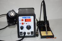 atten soldering station - DHL EU PLUG Best Selling V d in1 Rework Station Hot Air Gun Solder Iron better than ATTEN