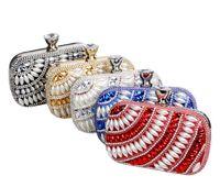 bead bag suppliers - Fashion Lady Girl Bag Bridal Clutch Party Purse Wallet Evening Bag Purse Handbag Shoulder bag Wedding Accessories Supplier