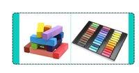Wholesale Best Sale Non Toxic Hair Chalk Temporary Hair Dye Color s Soft Pastels Salon Hair Color Set Kit