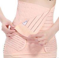 Wholesale 3pcs Set Belly Band Corset Belts Maternity Women Waist Support Band Stomach Band Belly B3595