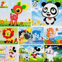 Wholesale 3D Handmade stickers Factory direct sale The three dimensional EVA sticker school DIY Educational toys