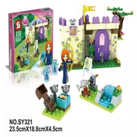 Wholesale New SY321 Building Block Disn Princess Merida s Highland Games Friends Minifigures Girls Toys Compatible With Legoe P008