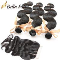 Brazilian Hair big deals - BIG DEAL Top Closures Part Hair Closure When Buy or2or3or4 Hair Extensions Body Wave Brazilian Human Hair Weaves Bellahair